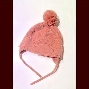 Toddler knit hat by Zara